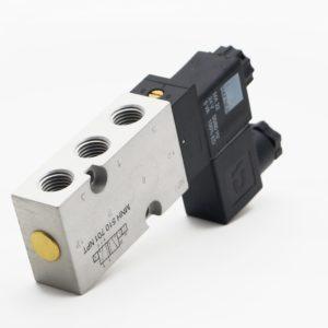 J+J Actuadores Pneumáticos Electroválvulas Estándar 5/2v frontal