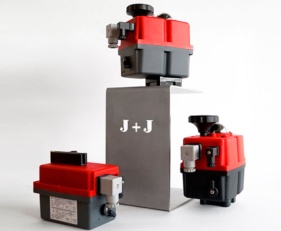 Apilamiento de Actuadores Eléctricos Multivoltaje J3C